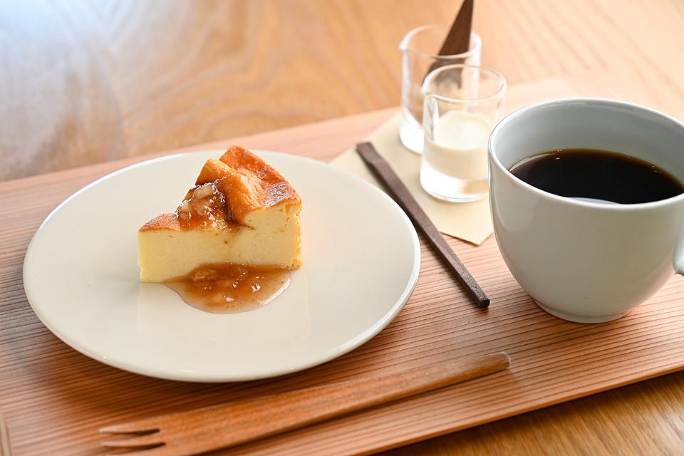 罕见的干酪蛋糕400日元,mirai混合450日元(在糕点和套组减去100日元)